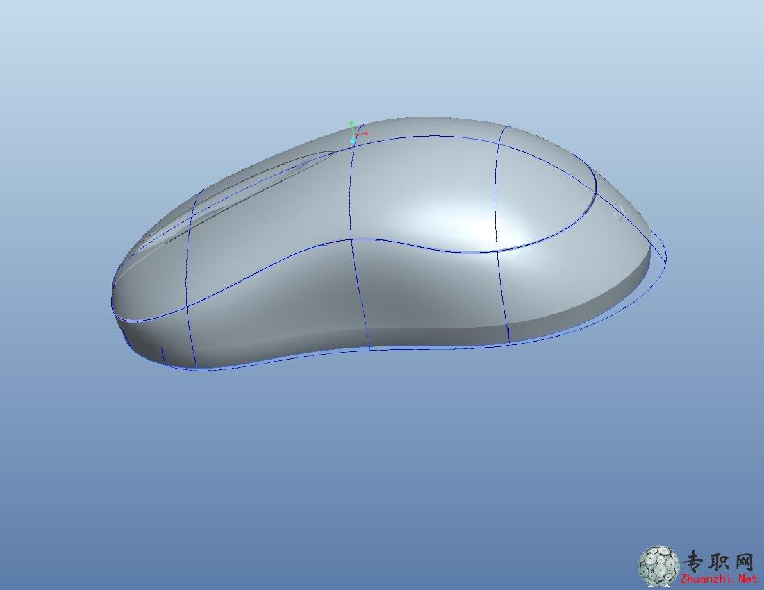 鼠标的pro/e画法_proe5.0造型实例视频下载