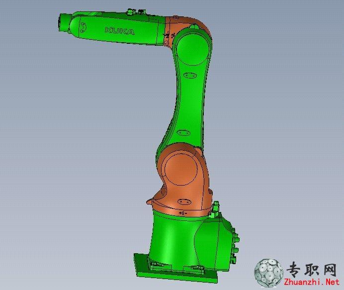 kuka機器人(kuka六自由度機械臂)3d模型下載_solidworks設計_sldasm