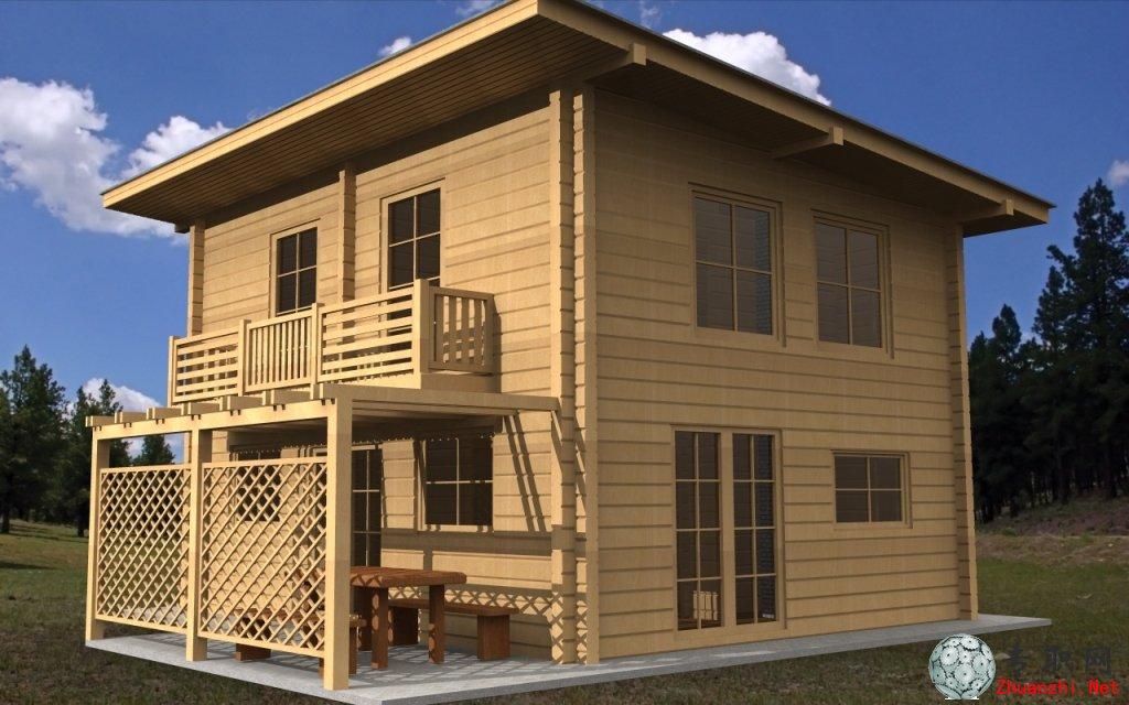 安筑建筑别墅图纸