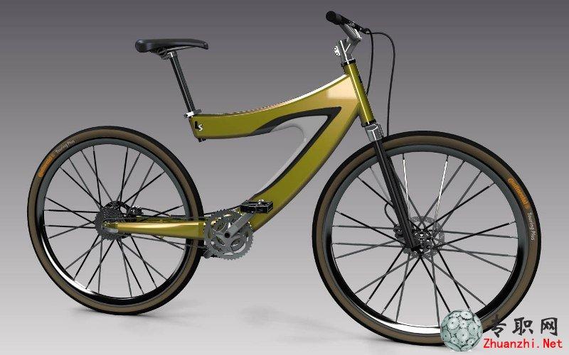 法拉利自行车3d模型完整设计图纸 solidedge设计 par asm高清图片