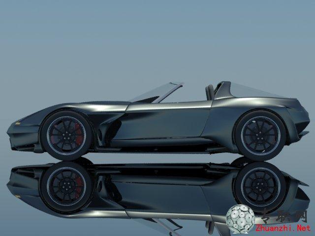 雪佛兰克尔维特zr1 2015概念车3d模型_3ds max设计_max源文件图纸下载