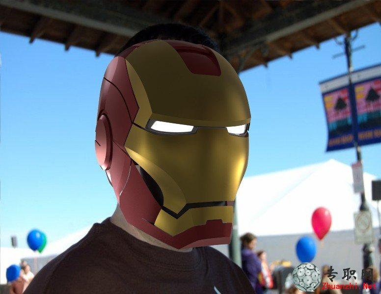 钢铁侠头盔3d模型 alias autostudio设计 sldprt igs源文件图纸高清图片