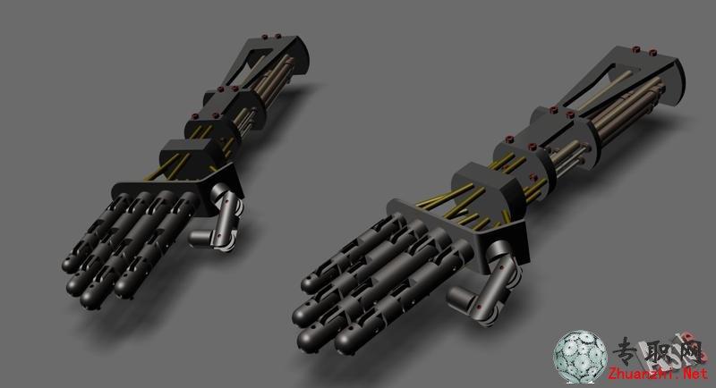 機器人手3d模型_autocad設計_dwg源文件圖紙下載