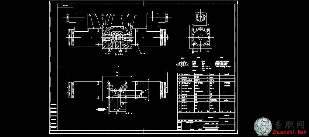 bs353-00电磁换向阀 装配图