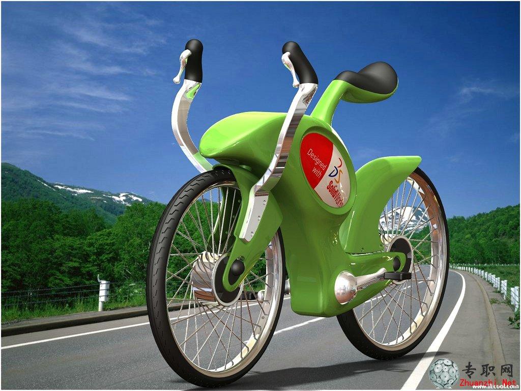"""""""自行车""""设计步骤详解(案例二)_solidworks产品设计实例视频教程下载"""