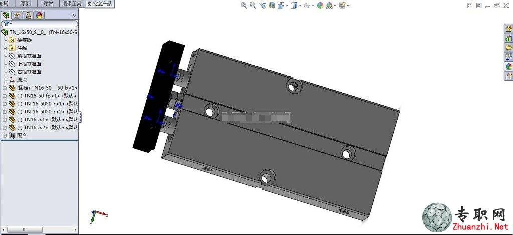 solidworks装配件设计