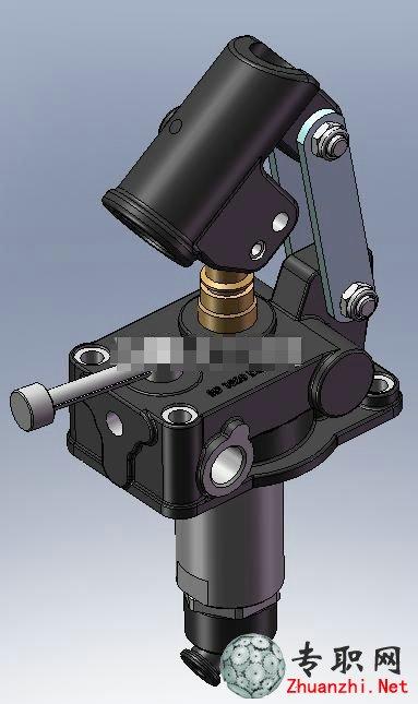手动泵3d模型_solidworks设计_sldprt/sldasm/catpart