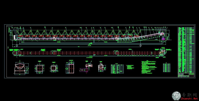 机械图纸dwg内容机械图纸dwg版面设计