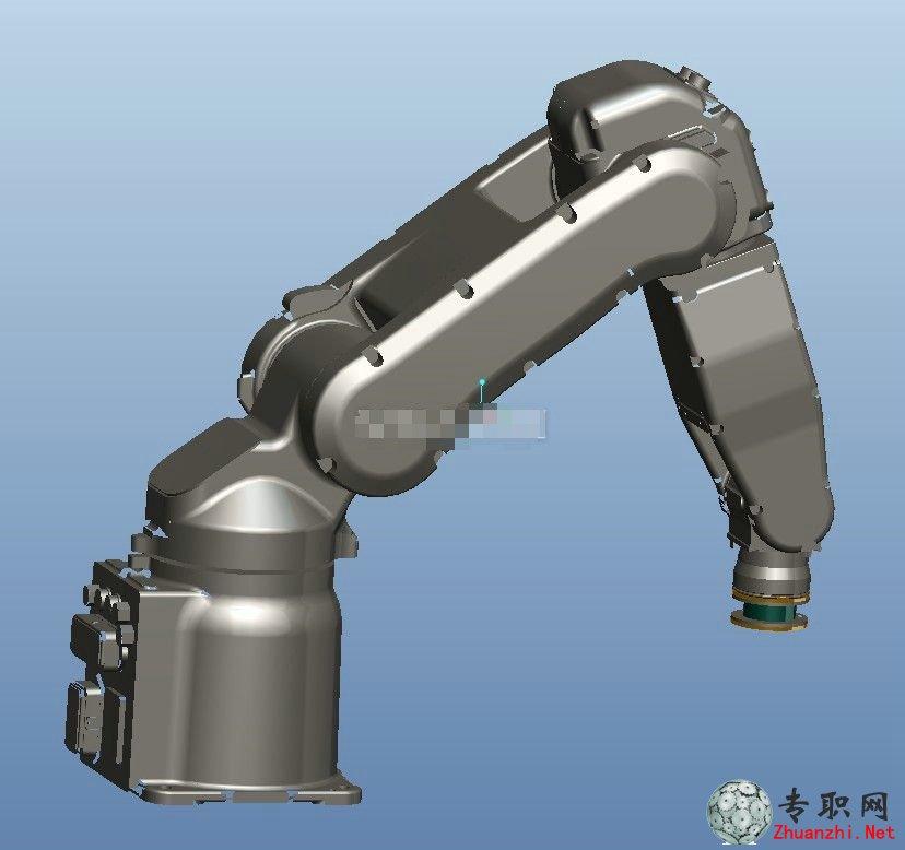 机械手/工业机器人3d模型_iges/igs格式文件下载
