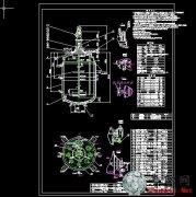 k彩娱乐网:搪玻璃闭式应釜(5张图纸)_cad图纸/二维图纸下载