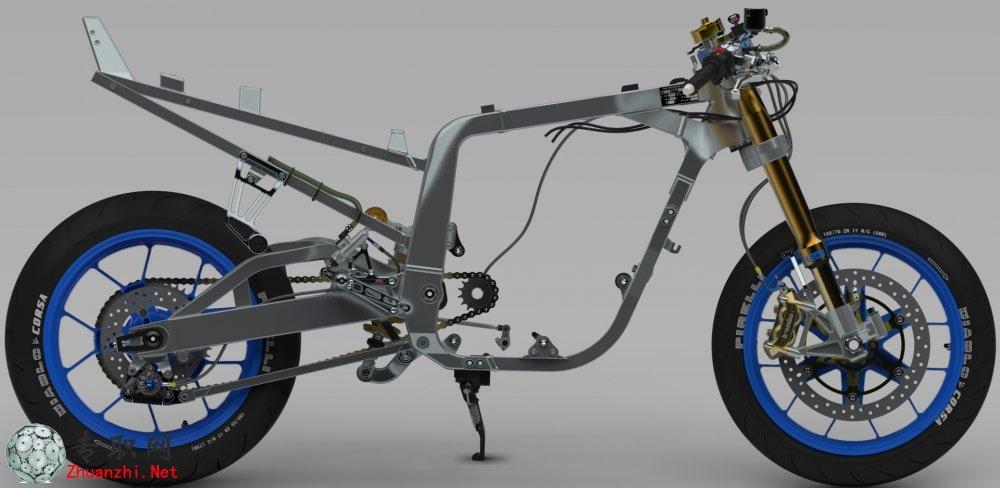 gsxr1100铃木摩托车3d模型