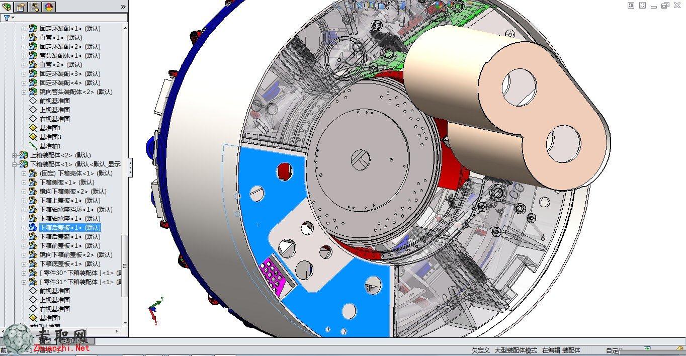 内部结构)3d模型