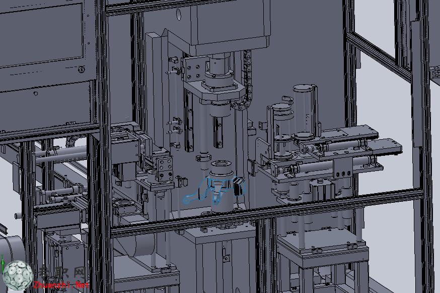 压接线盒和线槽自动化设备3d模型